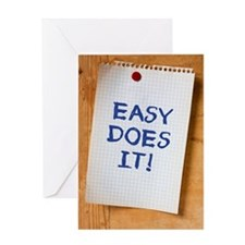 Easy Does It Greeting Cards