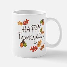 Happy Thanksgiving Small Mugs