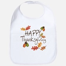 Happy Thanksgiving Bib