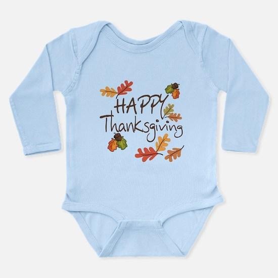 Happy Thanksgiving Onesie Romper Suit