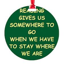 reading Ornament