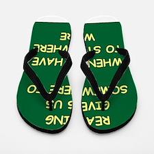 reading Flip Flops