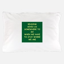 reading Pillow Case