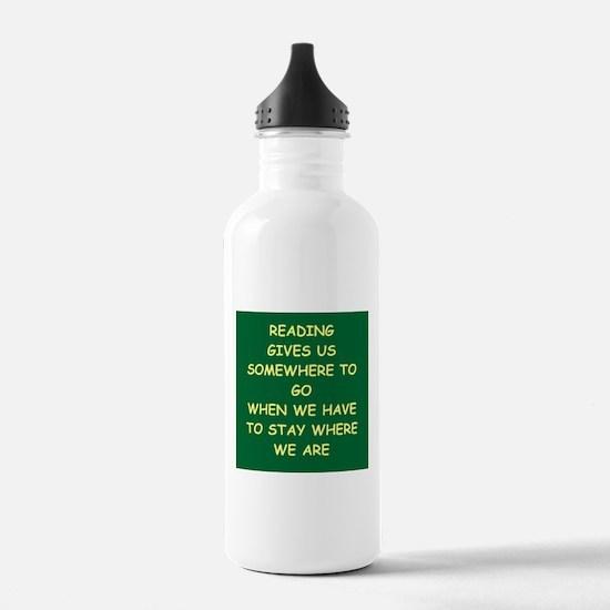 reading Water Bottle