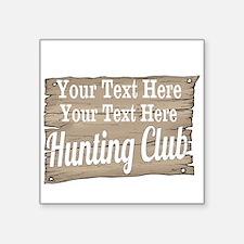 Vintage Hunting Club Sticker