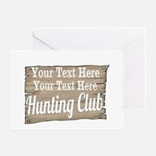 Vintage Hunting Club Greeting Cards