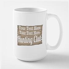 Vintage Hunting Club Mugs