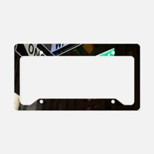 broadway3 License Plate Holder