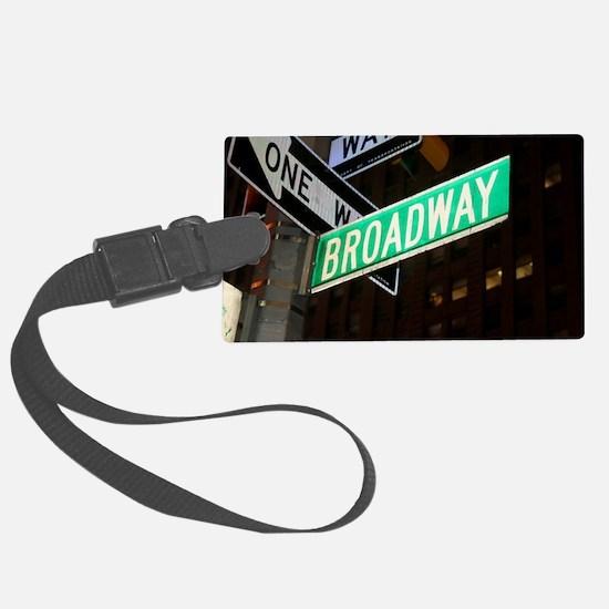 broadway3 Luggage Tag