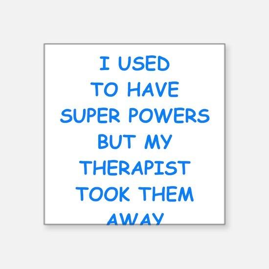 super powers Sticker