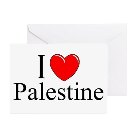 """I Love Palestine"" Greeting Cards (Pk of 10)"