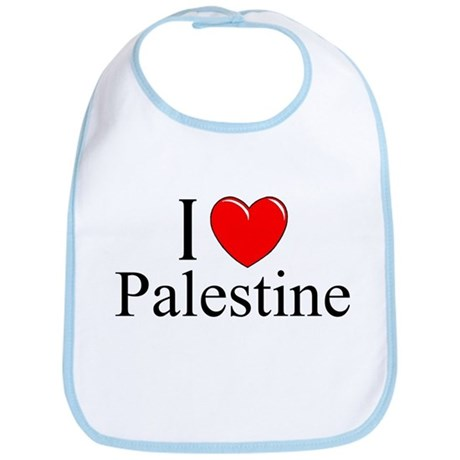 """I Love Palestine"" Bib"
