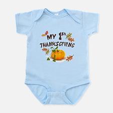 My 1st Thanksgiving Infant Bodysuit