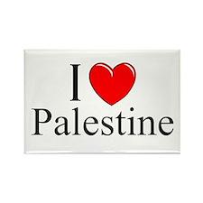 """I Love Palestine"" Rectangle Magnet"