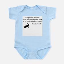 Moral Values Quote Infant Bodysuit