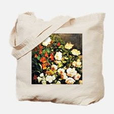 Boudin: Spray of Flowers, floral painting Tote Bag