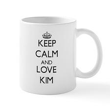 Keep calm and love Kim Mugs