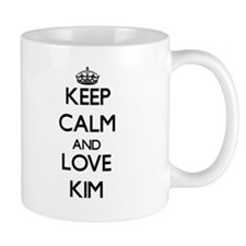 Keep calm and love Kim Mugs