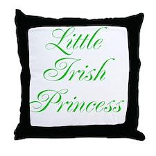 Little Irish Princess Throw Pillow
