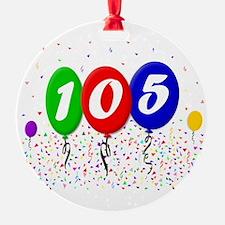 105th Birthday Ornament