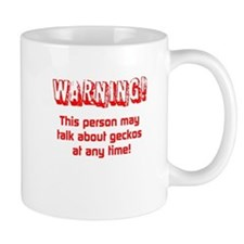 Gecko Warning Mugs