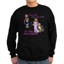 Real Girls Rescue Pitbulls Sweatshirt