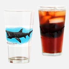 Basking Shark Drinking Glass
