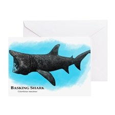 Basking Shark Greeting Card