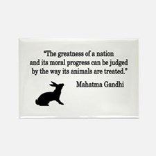 Moral Values Quote Rectangle Magnet (10 pack)