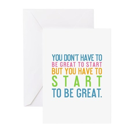 You Don't Have To Be Great To Start Greeting Cards
