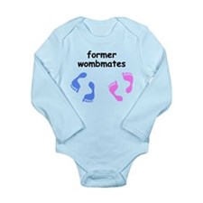 Former Wombmates (boy and girl twins) Body Suit