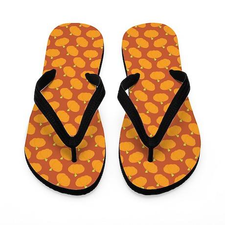 Pumpkins Flip Flops