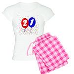 21st Birthday Women's Light Pajamas