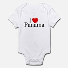 """I Love Panama"" Infant Bodysuit"