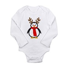 Red Nosed Penguin Body Suit