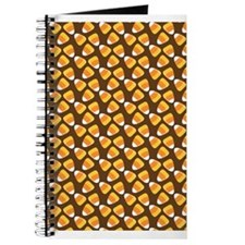 Brown Candy Corn Journal