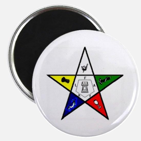 NY Eastern Star Magnet