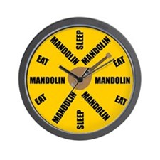 Mandolin Clock Wall Clock