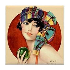 Art Deco Flapper Pin Up in Bathing Suit Roaring 20