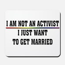 Pro Gay Marriage Mousepad