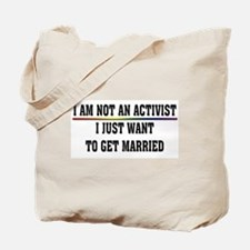 Pro Gay Marriage Tote Bag