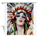 Native american Shower Curtains