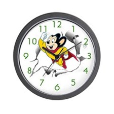 Mighty Mouse Wall Clock