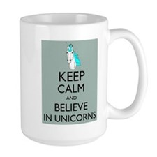 Keep Calm and Believe in Unicorns Parody Humor Hip