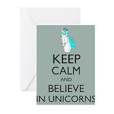 Keep Calm and Believe in Unicorns Parody Humor Hip