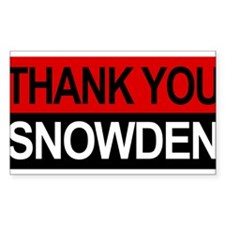 Edward Snowden Bumper2 Decal
