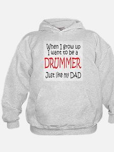 Drummer - like dad Hoodie