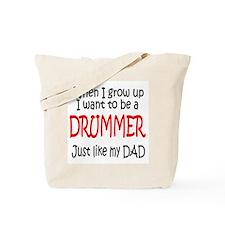 Drummer - like dad Tote Bag