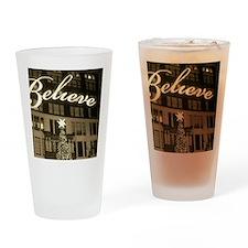 macy's new york city christmas Drinking Glass