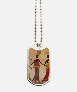 African Women Dog Tags